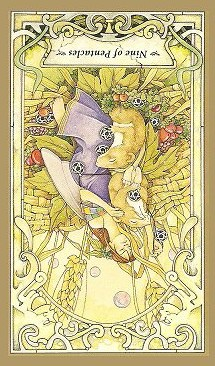 9 of Pentacles - Inverted