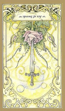 Ace Of Swords - Inverted