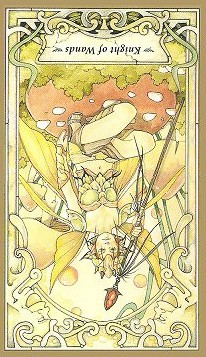 Knight of Wands: Inverted