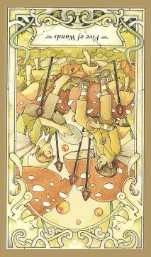 Five of Wands - Inv