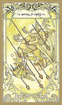 Eight of Wands: Inverted