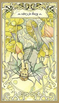 King of Cups Inverted