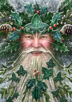 The Spirit Of Yule by Anne Stokes