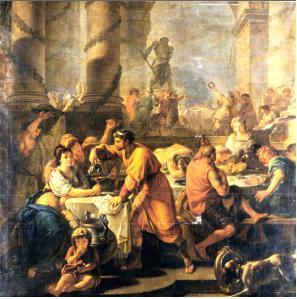 Saturnalia by Antoine-Francois Callet (1741-1823)