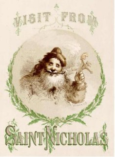 """""""A Visit From Saint Nicholas""""By Clement MooreIllustrator: F.O.C. Darley"""