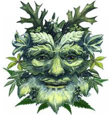 The Green Man by Renaat Marchand
