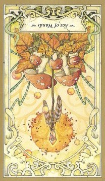 Ace of Wands - Inverted