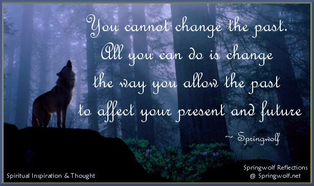 You Can't Change The Past, But...