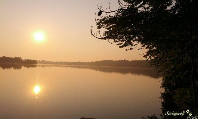 Lake Sunrise by Springwolf © 07.2013