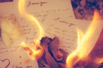 burningletter