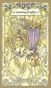 Eight Of Pentacles - Inverted
