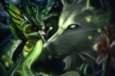 Fairy and the Wolf by Islanimation