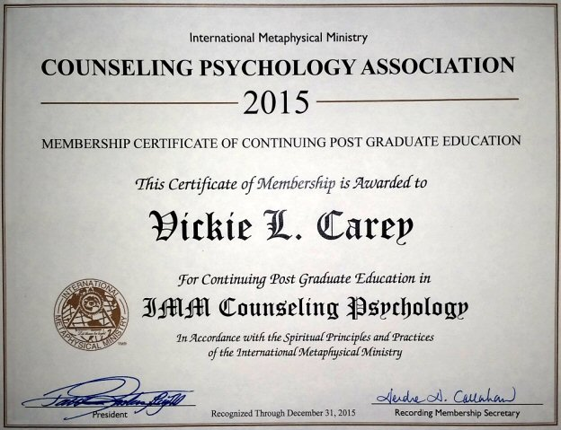 Counseling Psychology Association Certification