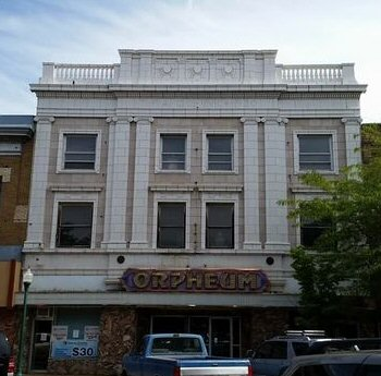 The Orpheum Theater in Twin Falls, Idaho