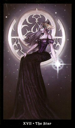 The Steampunk Tarot by Aly Fell - XVII The Star