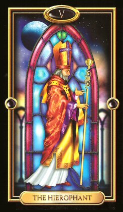 The Gilded Tarot by Ciro Marchetti - The Hierophant V