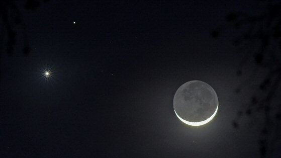 Conjunction from February, 2015. Credit: NASA