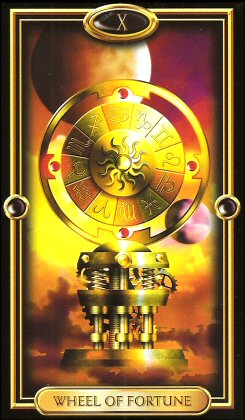 The Gilded Tarot by Ciro Marchetti - Wheel of Fortune X