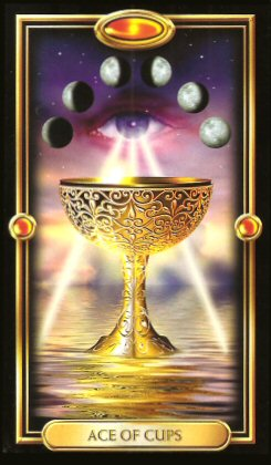 The Gilded Tarot by Ciro Marchetti - Ace of Cups