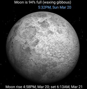 Moon Phase by Udell Enterprises, Inc.
