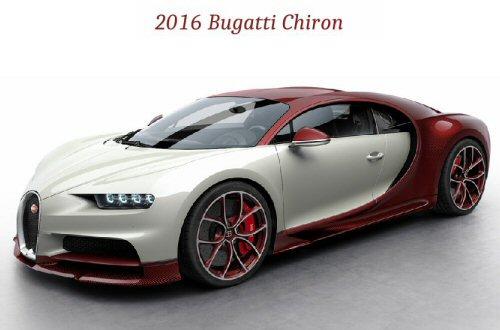 2016 Bugati Chiron